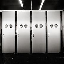 Eingang zum Österreich-Stand auf der Triennale 1968