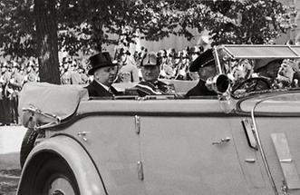 Wilhelm Miklas auf Staatsbesuch