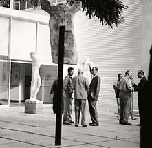 Alfred Hrdlicka auf der Biennale