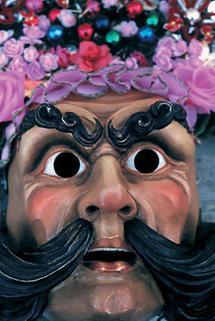 Maske vom Imster Schemenlauf