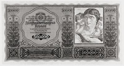 Österreichische Kronen - Banknote