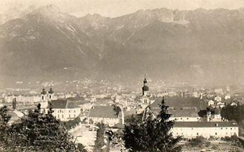 Panoramaansicht von Innsbruck