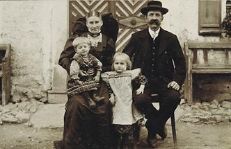 Bauernfamilie aus Oberösterreich