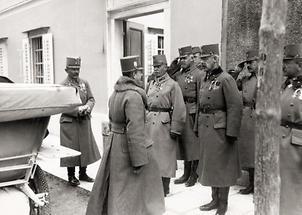 Kaiser Karl an der Isonzofront