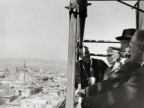 Konrad Adenauer in Wien