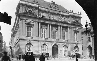 Die sogenannte Aula der Wiener Universität