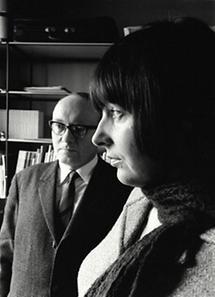 Ernst Jandl und Friederike Mayröcker