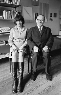 Friederike Mayröcker und Ernst Jandl (1)