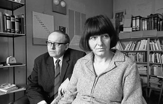 Friederike Mayröcker und Ernst Jandl (2)