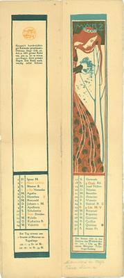 Kalenderblatt März für das Jahr 1900