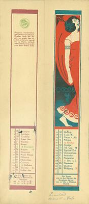 Kalenderblatt Oktober für das Jahr 1900