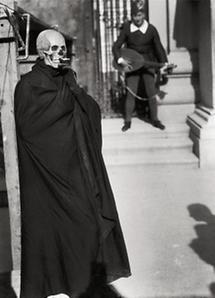 Figur des Todes im Jedermann