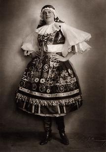 Maria Jeritza als Jenufa (1)