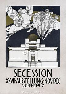 Plakat: 27. Ausstellung der Secession