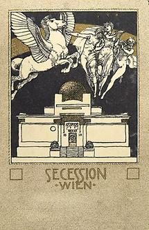 Postkarte der Wiener Secession