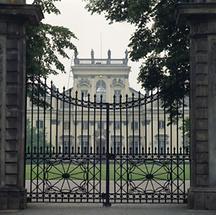 Tor von Schloss Wilanow