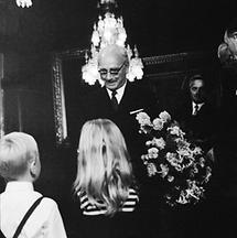 Bundespräsident Jonas an seinem 70. Geburtstag