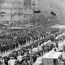Trauerzug zu Ehren von Bundespräsident Franz Jonas (2)