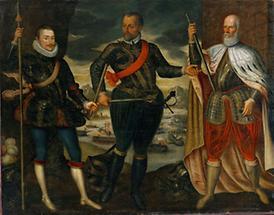 Don Juan von Österreich als Befehlshaber