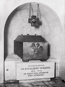 Das Grab von Engelbert Dollfuß