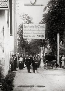 Plakat für für die Volksabstimmung in Südkärnten