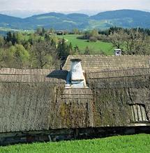 Traditionelle Strohdächer im Mühlviertel