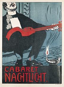 Umschlag zum Programmheft des Cabaret Nachtlicht