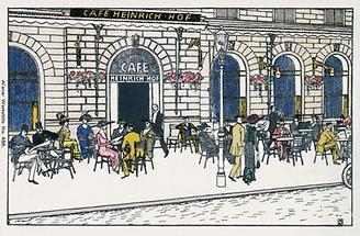 Wien: Café Heinrichhof