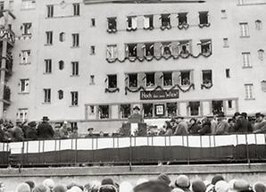 Bürgermeister Seitz eröffnet den Goethehof