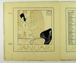 Kalenderblatt für Ver Sacrum