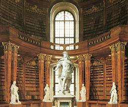 Großer Saal der Nationalbibliothek