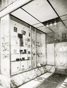 Eingang des Geschäftslokals der Wiener Werkstätte