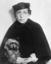 Portrait Dora Kallmus (1)