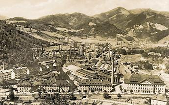 Die Gußstahlfabrik in Kapfenberg
