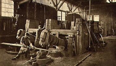 Gußstahlwerk in Kapfenberg
