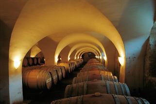 Weinkeller im Schloss Kapfenstein