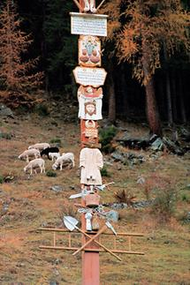 Arma-Kreuz in Kappl im Paznauntal, Tirol