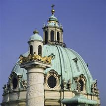 Kuppel der Karlskirche