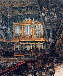 Der Goldene Saal im Musikvereinsgebäude