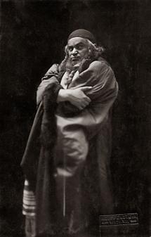 Fritz Kortner als Shylock