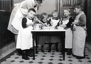 Kochstunde im Kindergarten