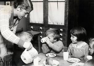 Essen und Trinken im Kindergarten
