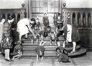 Gymnastik im Kindergarten