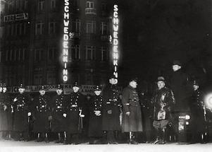 Demonstration der Nationalsozialisten