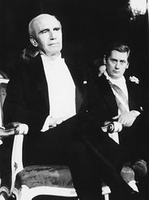 Rudolf Kirchschläger und Hannes Androsch