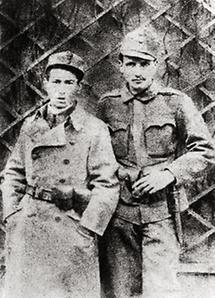 Egon Erwin Kisch und Leo Rothziegel