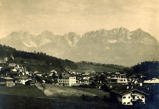 Stadtansicht von Kitzbühel