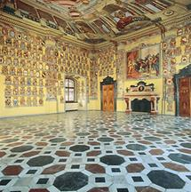 Grosser Wappensaal im Klagenfurter Landhaus