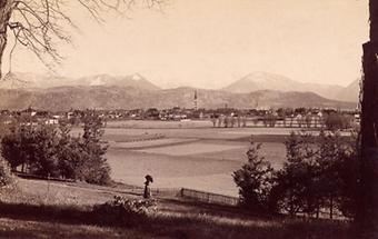 Panoramaansicht von Klagenfurt
