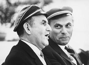 Josef Klaus und Hermann Withalm